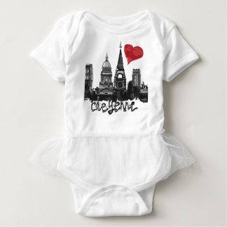 I love Cheyenne Baby Bodysuit