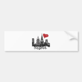 I love Cheyenne Bumper Sticker
