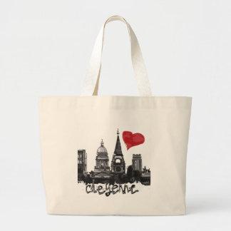 I love Cheyenne Large Tote Bag