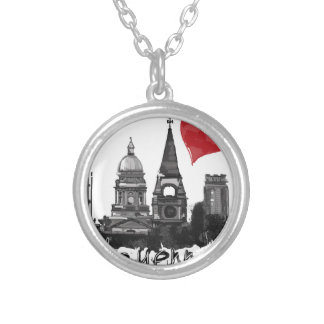 I love Cheyenne Silver Plated Necklace