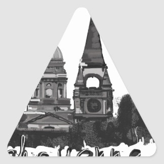 I love Cheyenne Triangle Sticker