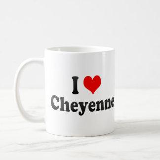 I Love Cheyenne, United States Coffee Mug