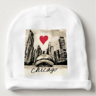 I love Chicago Baby Beanie