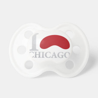 I LOVE CHICAGO BABY PACIFIERS