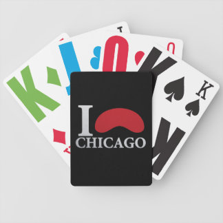 I LOVE CHICAGO BICYCLE PLAYING CARDS