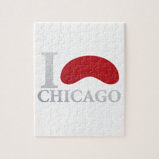 I LOVE CHICAGO JIGSAW PUZZLE