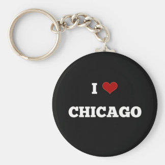 I Love Chicago Keychain