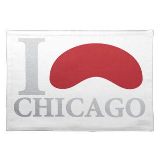 I LOVE CHICAGO PLACEMAT