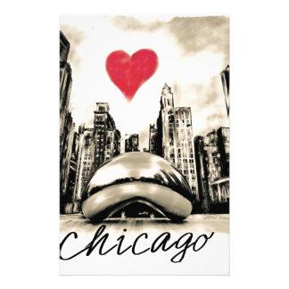 I love Chicago Stationery