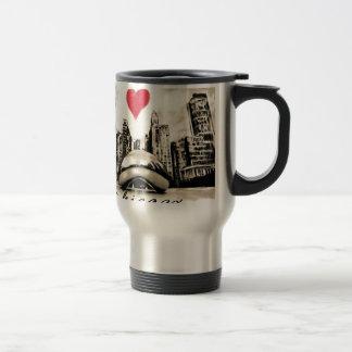 I love Chicago Travel Mug