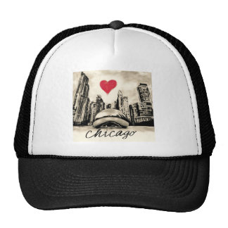 I love Chicago Trucker Hat