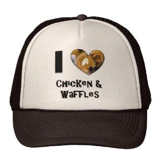 I Love Chicken and Waffles Trucker Hat
