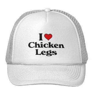 I love chicken legs hats