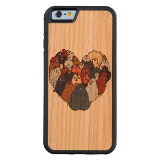 I Love Chickens Cherry iPhone 6 Bumper