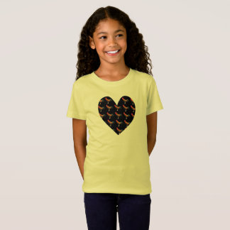 I Love Chickens Hens Roosters, Funny Girl's TShirt