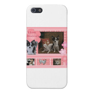 I love Chihuahuas iPhone 5 Cover