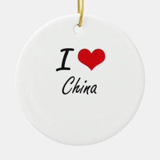 I love China Artistic Design Ceramic Ornament