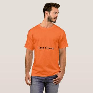 I love China T-shirt for man