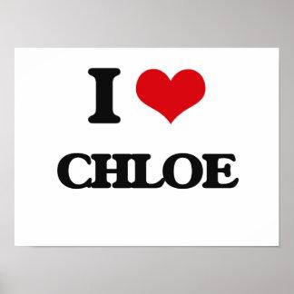 I Love Chloe Poster