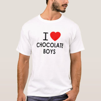 I LOVE CHOCOLATE BOYS T-Shirt