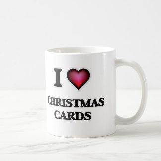 I love Christmas Cards Coffee Mug