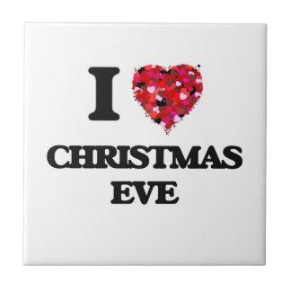 I love Christmas Eve Tiles