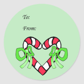 I Love Christmas Gift Stickers
