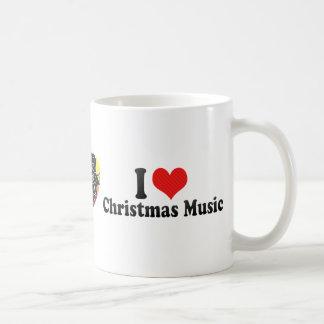 I Love Christmas Music Coffee Mug