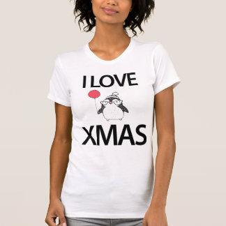 I Love Christmas Shirt With Balloon