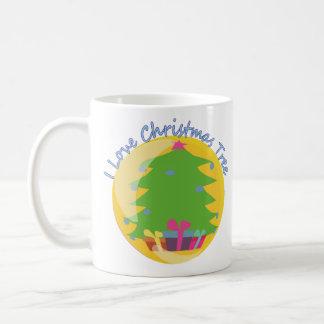 'I love Christmas Tree' Mug