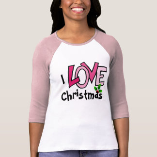 I LOVE Christmas - tshirt