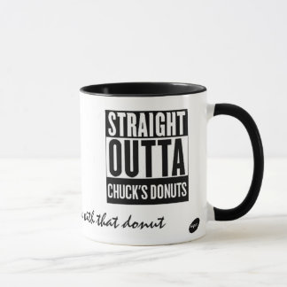I Love Chucks Donuts in Redwood City Mug 16