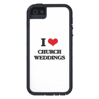 I love Church Weddings iPhone 5 Case