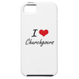 I love Churchgoers Artistic Design iPhone 5 Cover