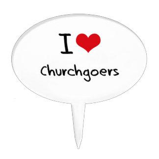 I love Churchgoers Cake Toppers