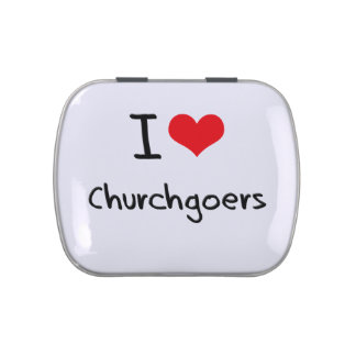 I love Churchgoers Jelly Belly Candy Tins