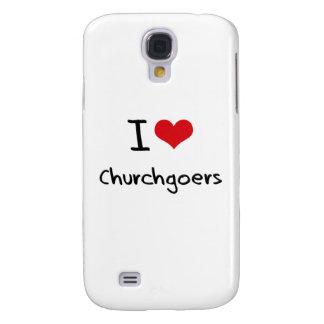 I love Churchgoers Samsung Galaxy S4 Cases