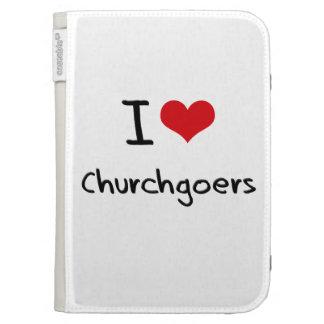I love Churchgoers Kindle 3G Cases