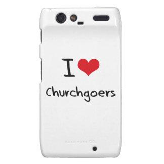 I love Churchgoers Droid RAZR Cover