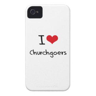 I love Churchgoers iPhone 4 Covers