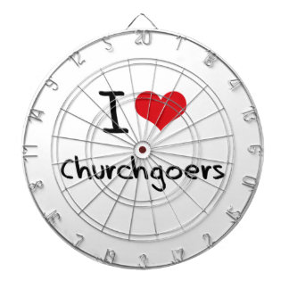 I love Churchgoers Dart Boards