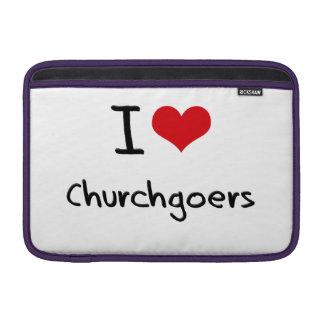 I love Churchgoers MacBook Air Sleeve
