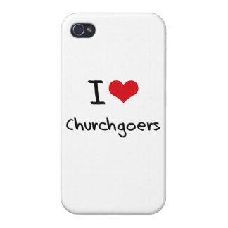 I love Churchgoers iPhone 4/4S Cases