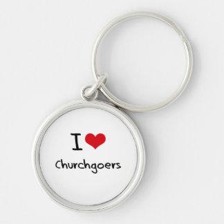 I love Churchgoers Key Chains