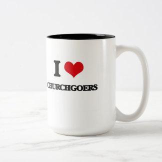 I love Churchgoers Mugs