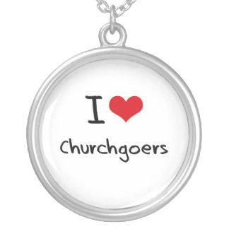 I love Churchgoers Custom Necklace