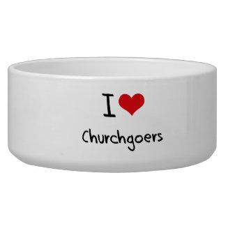 I love Churchgoers Pet Food Bowls