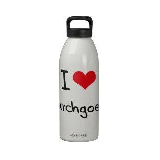 I love Churchgoers Drinking Bottles