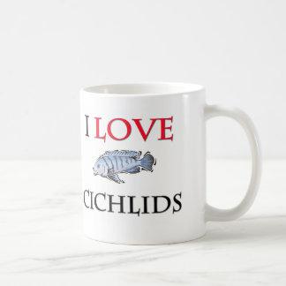 I Love Cichlids Coffee Mug