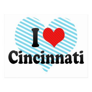I Love Cincinnati Postcard